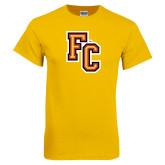 Gold T Shirt-FC Logo