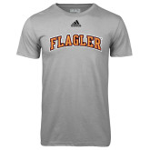 Adidas Climalite Sport Grey Ultimate Performance Tee-Flagler Arched