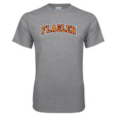 Grey T Shirt-Flagler Arched