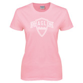 Ladies Pink T Shirt-Primary Mark