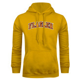 Gold Fleece Hoodie-Flagler Arched