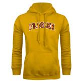 Gold Fleece Hoodie-Flagler Arched