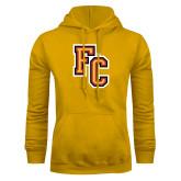 Gold Fleece Hoodie-FC Logo