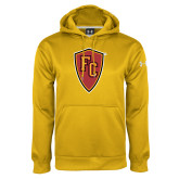 Under Armour Gold Performance Sweats Team Hoodie-Secondary Mark