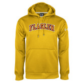 Under Armour Gold Performance Sweats Team Hoodie-Flagler Arched