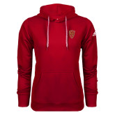 Adidas Climawarm Red Team Issue Hoodie-Secondary Mark