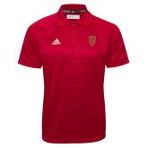 Adidas Climalite Red Jacquard Select Polo-Secondary Mark