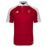 Adidas Modern Red Varsity Polo-Secondary Mark