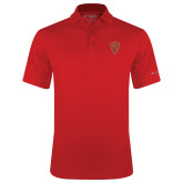 Columbia Red Omni Wick Drive Polo-Secondary Mark