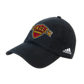 Adidas Black Slouch Unstructured Low Profile Hat-Primary Mark