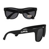 Black Sunglasses-Flagler Arched