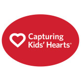 Large Decal-Capturing Kids Hearts, 12 inches wide
