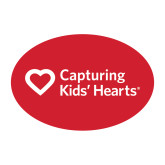 Small Decal-Capturing Kids Hearts, 6 inches wide