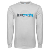 White Long Sleeve T Shirt-Leadworthy