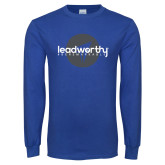 Royal Long Sleeve T Shirt-Leadworthy