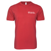 Next Level SoftStyle Red T Shirt-Capturing Kids Hearts