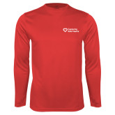 Syntrel Performance Red Longsleeve Shirt-Capturing Kids Hearts