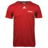 Adidas Climalite Red Ultimate Performance Tee-Flippen Group