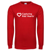 Red Long Sleeve T Shirt-Capturing Kids Hearts
