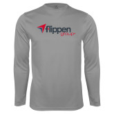 Syntrel Performance Steel Longsleeve Shirt-Flippen Group