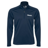 Syntrel Navy Interlock 1/4 Zip-Flippen Group