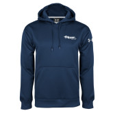 Under Armour Navy Performance Sweats Team Hoodie-Flippen Group