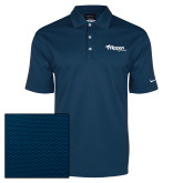 Nike Dri Fit Navy Pebble Texture Sport Shirt-Flippen Group