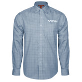 Red House Light Blue Plaid Long Sleeve Shirt-Capturing Kids Hearts