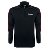 Nike Golf Dri Fit 1/2 Zip Black/Red Pullover-Flippen Group