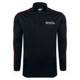 Nike Golf Dri Fit 1/2 Zip Black/Red Pullover-Capturing Kids Hearts