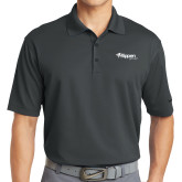 Nike Golf Dri Fit Charcoal Micro Pique Polo-Flippen Group