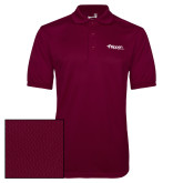 Maroon Dry Mesh Polo-Flippen Group
