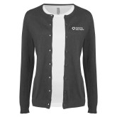 Ladies Charcoal Cardigan-Capturing Kids Hearts