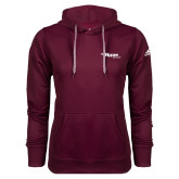 Adidas Climawarm Maroon Team Issue Hoodie-Flippen Group