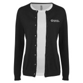 Ladies Black Cardigan-Capturing Kids Hearts