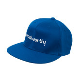 Royal Flat Bill Snapback Hat-Leadworthy