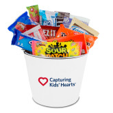 Metal Gift Bucket w/Neoprene Cover-Capturing Kids Hearts