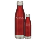 Swig Stainless Steel Red Bottle 16oz-Capturing Kids Hearts Engraved