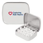 White Rectangular Peppermint Tin-Capturing Kids Hearts