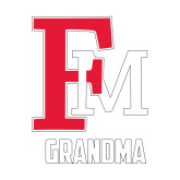 Small Decal-Grandma FM, 6 inches tall