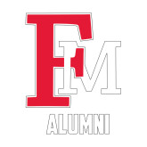Alumni Decal-Alumni FM, 6 inches tall
