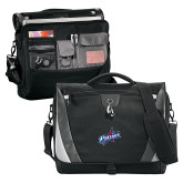 Slope Black/Grey Compu Messenger Bag-Patriots Star