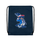 Navy Drawstring Backpack-The Patriot