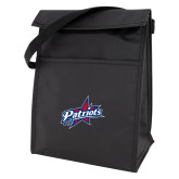 Black Lunch Sack-Patriots Star