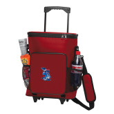 30 Can Red Rolling Cooler Bag-The Patriot