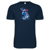 Next Level SoftStyle Navy T Shirt-The Patriot