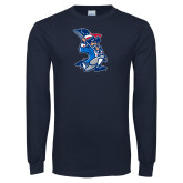 Navy Long Sleeve T Shirt-The Patriot