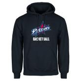 Navy Fleece Hoodie-Basketball
