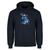Navy Fleece Hoodie-The Patriot