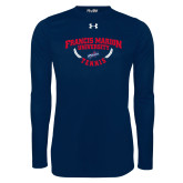 Under Armour Navy Long Sleeve Tech Tee-Tennis Branch